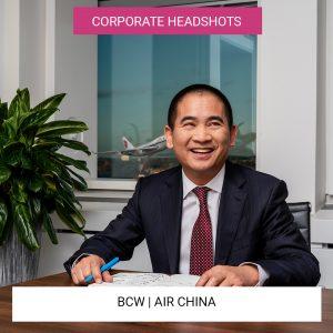 BCW | Air China | Corporate Headshots