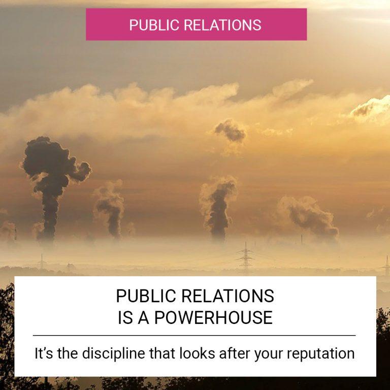 Public Relations is a Powerhouse