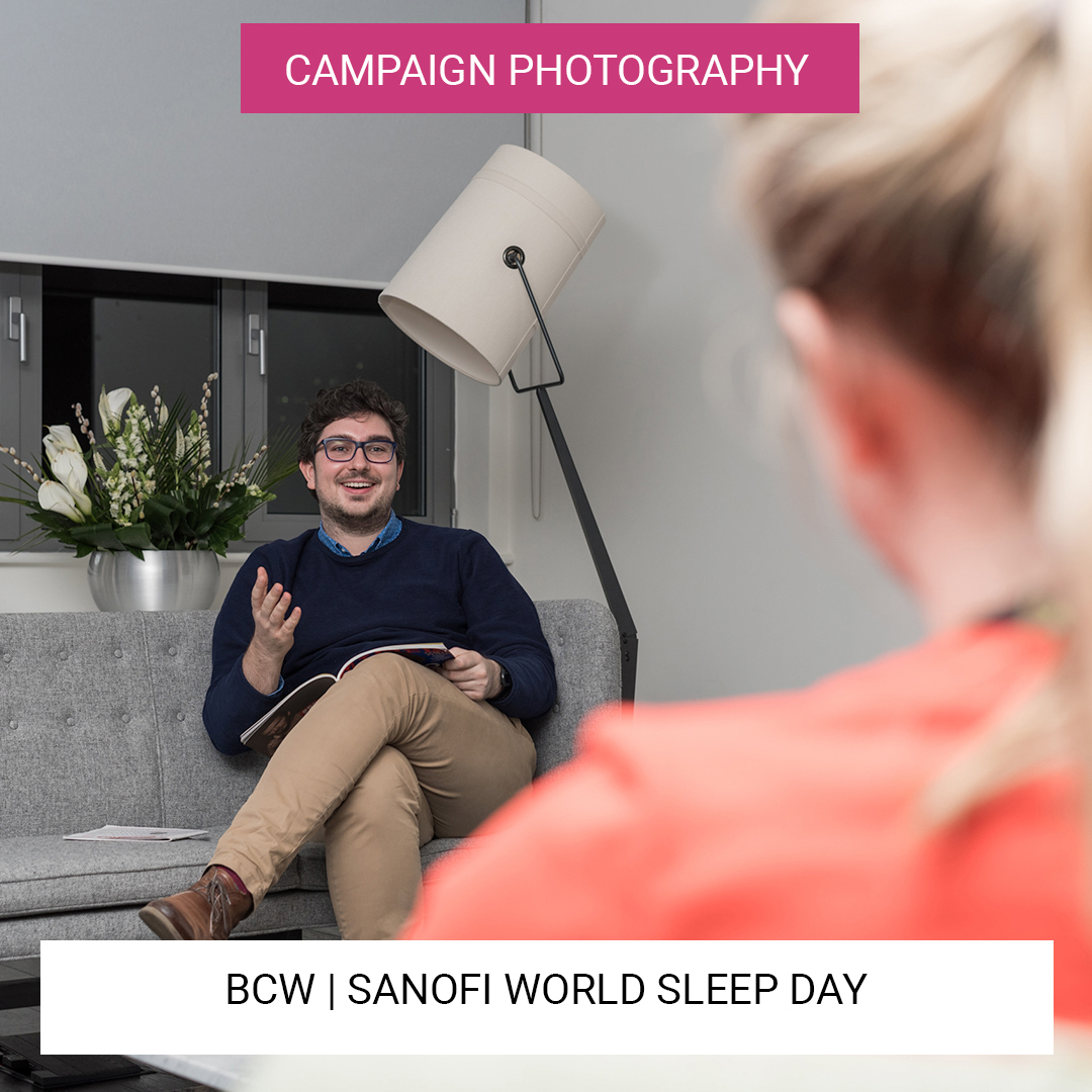 Sanofi Campaign Photography - World Sleep Day