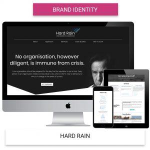 Hard Rain - Brand Identity