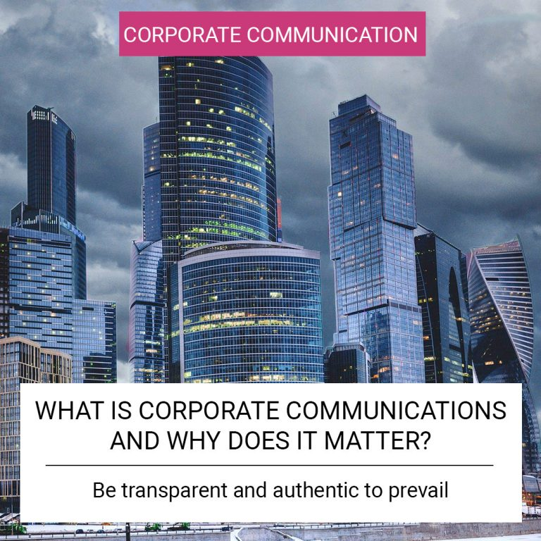 What is Corporate Communications and why does it matter?
