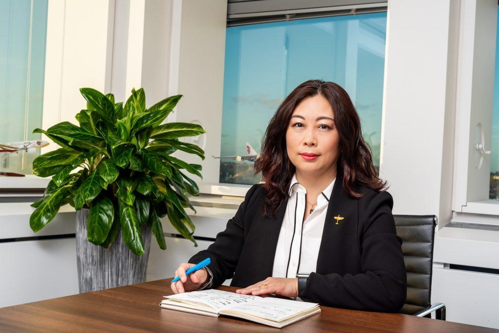 Air China Headshot, Corporate Photography