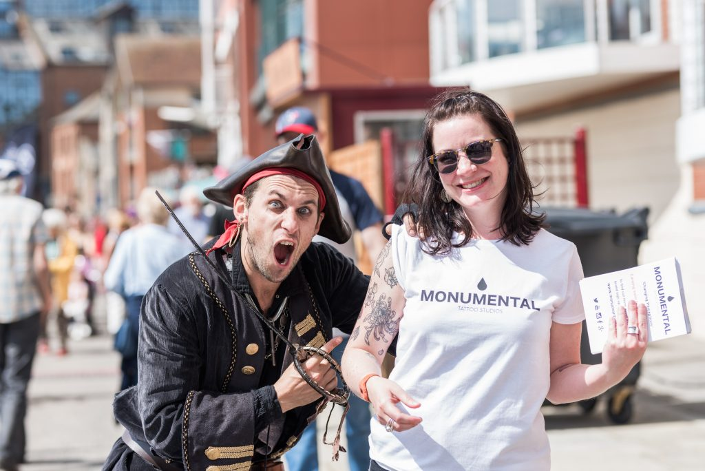 Monumental Ink | Ipswich Maritime Festival 2019