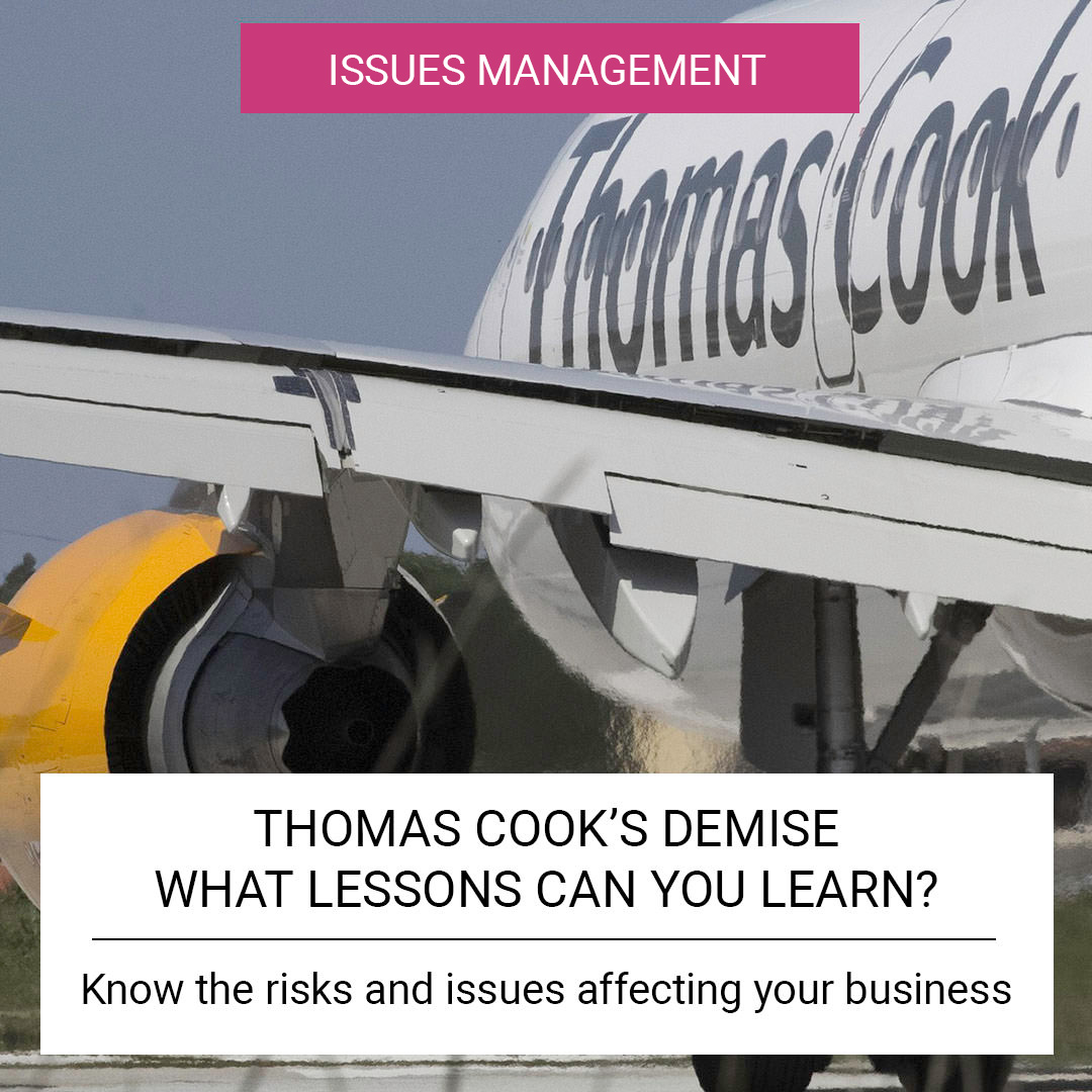 Thomas Cook's demise - what lessons can you learn?