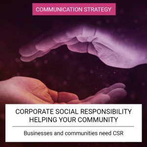 Corporate Social Responsibility - Helping your community