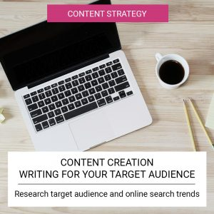 Content Creation - Writing for your target audience