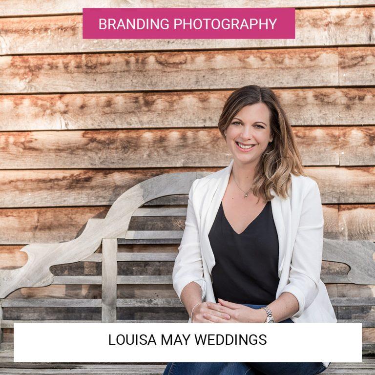 Louisa May Weddings | Branding Photography