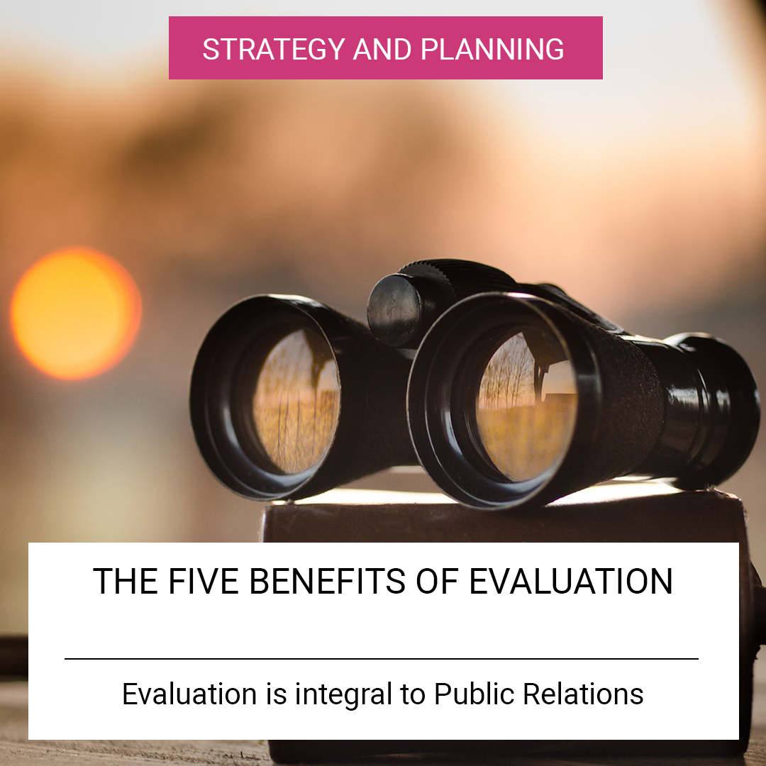 The five benefits of evaluation