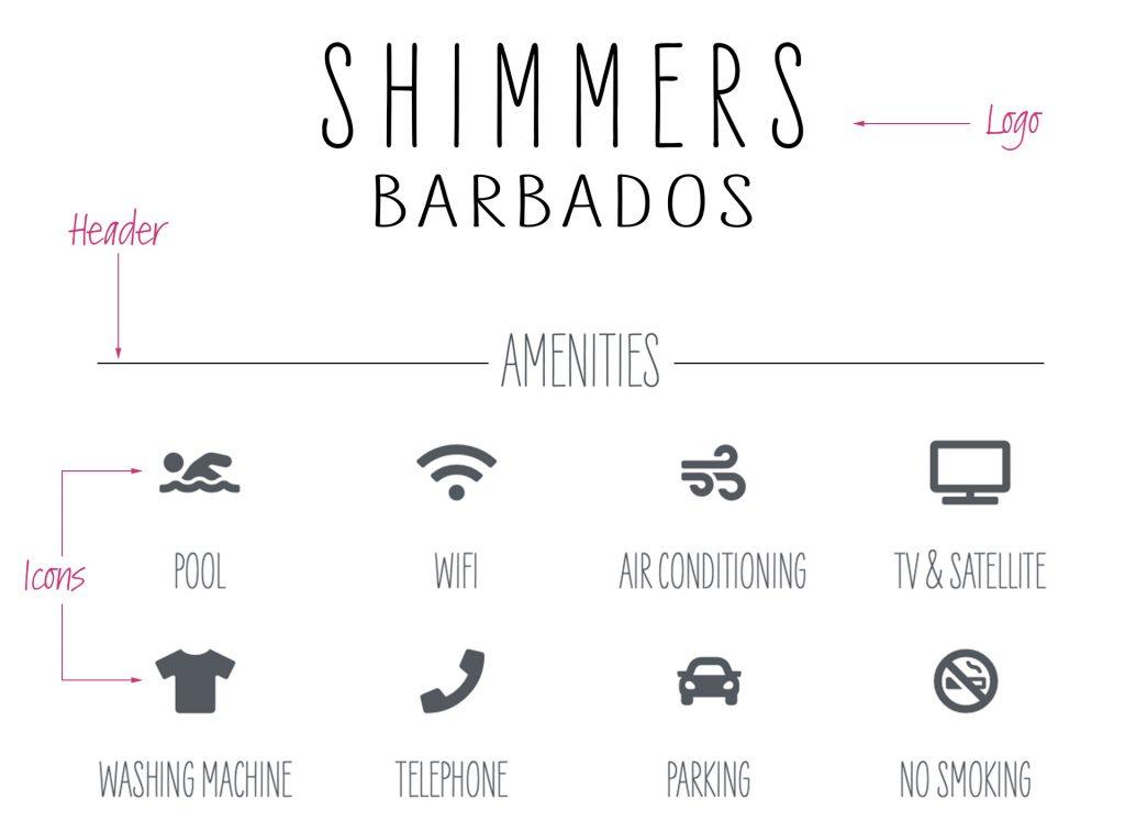 Shimmers Branding Design