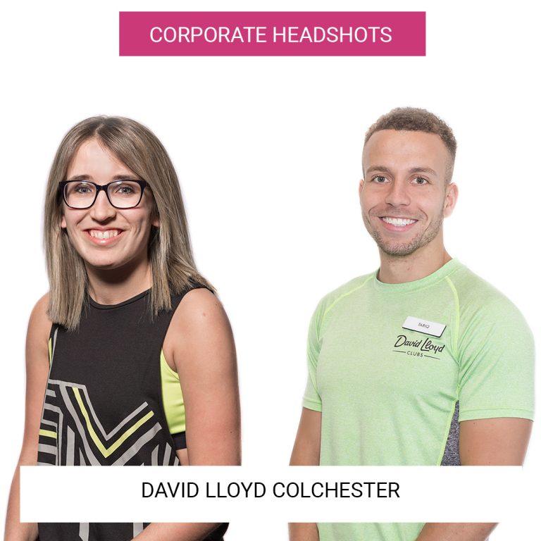 David Lloyd Colchester | Headshots