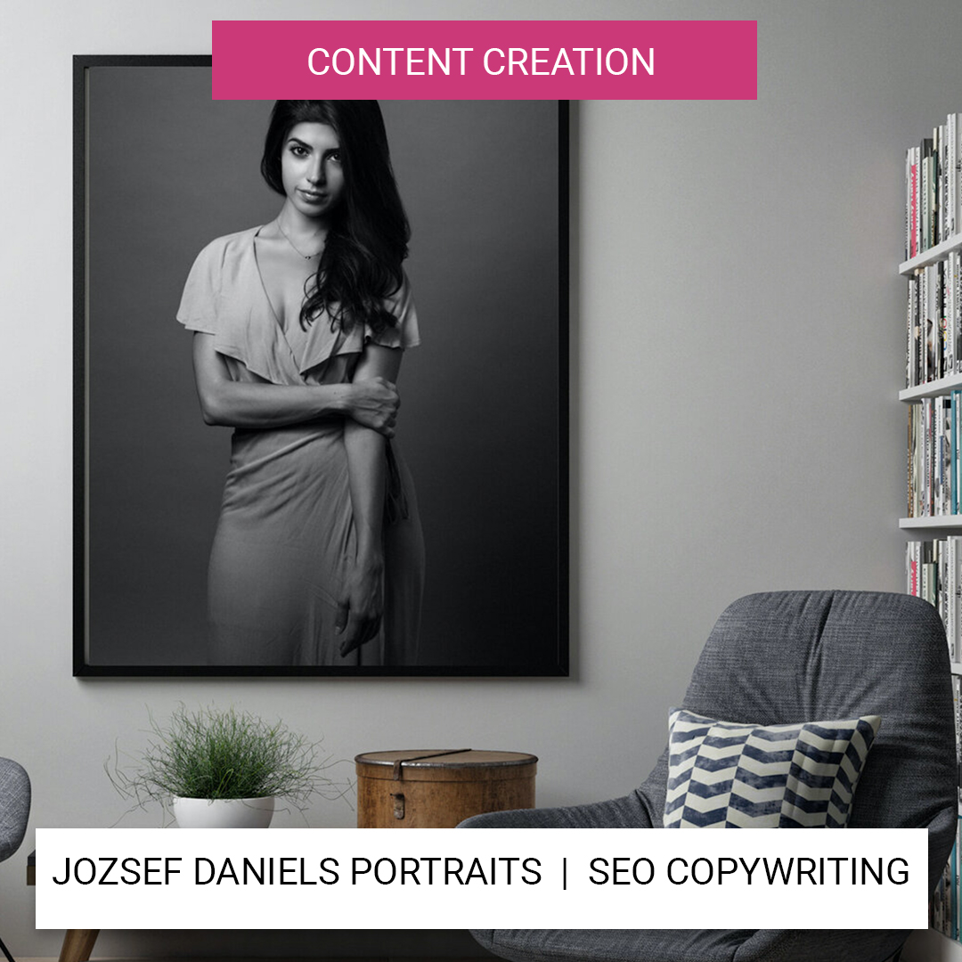 jozsef daniels SEO copywriting website