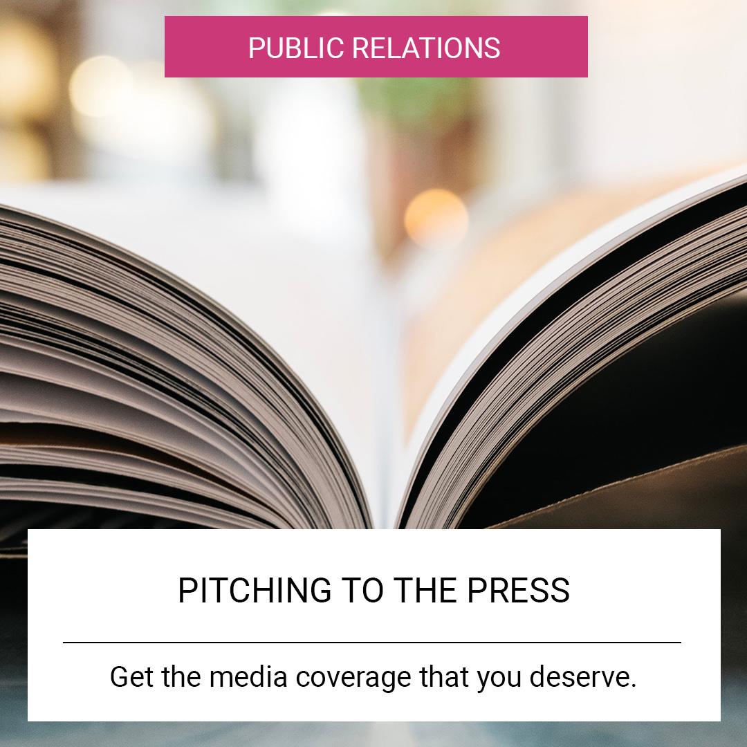 pitch press media coverage
